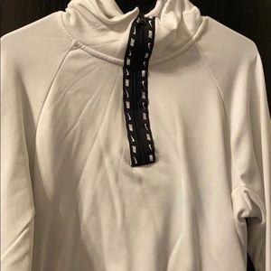 White Nike Zip Up